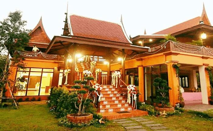 เรือนไทยรับจัดงานแต่งงาน